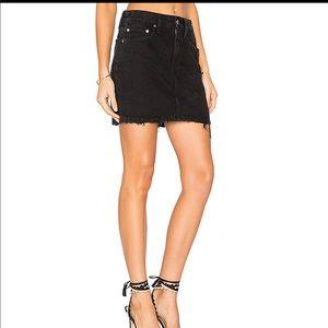Lovers + Friends Elijah Denim Skirt Size 28